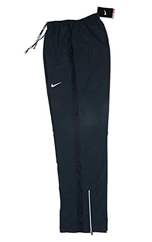 Nike Mens Stretch Woven Dri-Fit Training Pants Black Color Sweatpants (M)