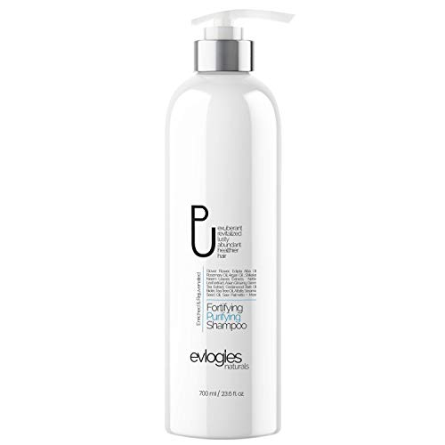Hair Growth Shampoo for Thinning Hair and Hair Loss, Natural Regrowth & Detox Treatment for Women and Men - Biotin, Tea Tree Oil, Moroccan Argan Oil and Vitamins, Hair Surge -