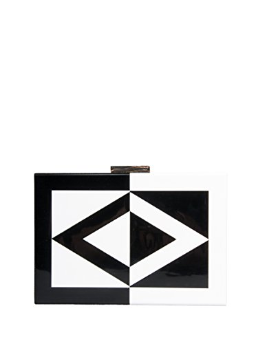 OLGA BERG OB6281 WHITE BLACK