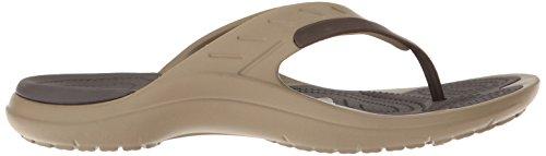 Flop Modi Flip Unisex Espresso Khaki Sandalias Sport Crocs Adulto xT7pqII