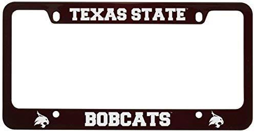 (Acove Texas State University Metal License Plate Frame-Burgundy)