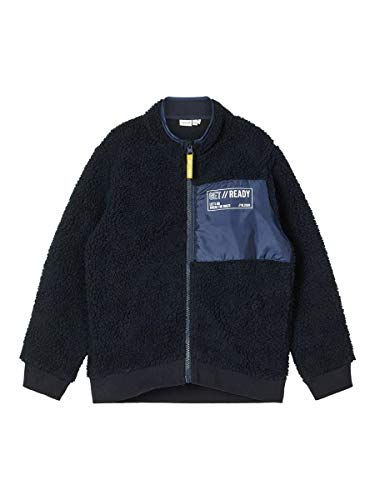 NAME IT NKMREADY TEDDY CARD jongens vest