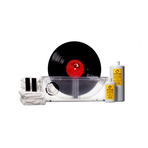 Limited-Edition Clear Spin-Clean Record Washer MKII Kit by SPIN CLEAN