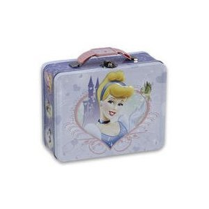 (Disney Princess Cinderella Embossed Metal Lunch Box)