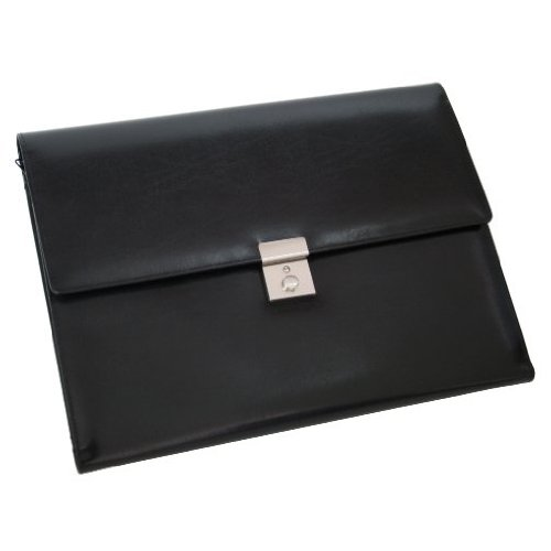 Royce Leather Aristo Padfolio File Organizer,Black,One Size