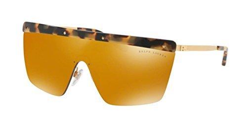 Ralph Lauren 0Rl7056, Gafas de Sol para Mujer, Sandblast Shiny Gold, 62