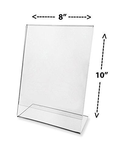 8 x 10 acrylic display - 8