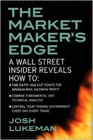 The Market Maker's Edge 1st (first) editon Text Only