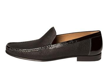 Mezlan Men's Assisi Slip-On Loafer, Black, 9 M US by Mezlan