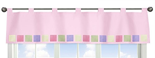 Baby Butterfly Window Valance - Pink and Purple Butterfly Collection Window Valance by Sweet Jojo Designs