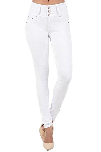 TheMogan Womens Elastic Stretch Skinny product image