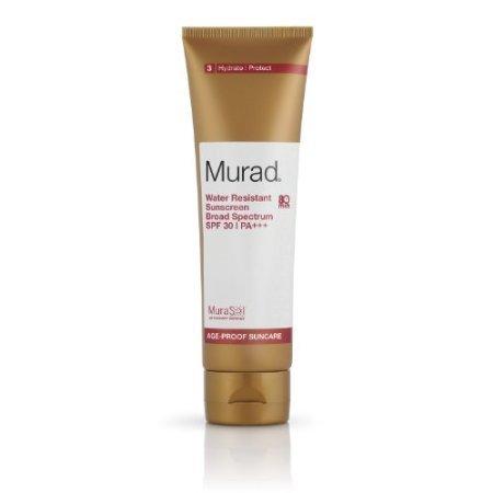 Murad Age Proof Suncare, Water Resistant Sunscreen Broad Spectrum SPF 30, 4.3 fl oz (125 ml)
