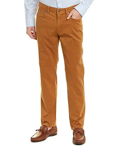 Brooks Brothers Mens Pant, 38/34, Brown
