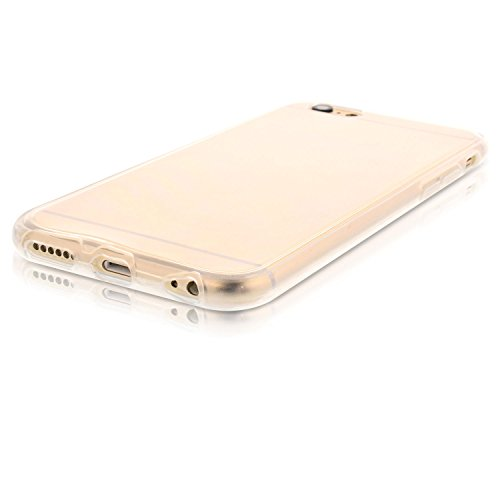 "Transparent Full Body Silikon Case für iPhone 6 6S (4,7"" Zoll)"