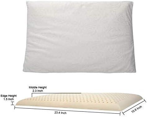 Slim Natural Latex Foam Pillow