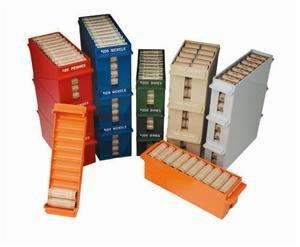 MMF 212075003 Extra Capacity Coin Trays - Sand - Capacity 100 Dollars -