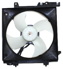 TYC 600550 Subaru Replacement Radiator Cooling Fan Assembly
