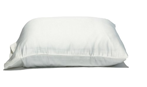 Oversize Pillow Case. Queen Size Extra Large. Fits Even The Fluffiest Pillows including The Pancake Pillow. Sleeve Style. Extra Tall Pillowcase. Luxury 100% Cotton. 300 Thread Count. By Gravity Sleep. (Extra Large Pillow)