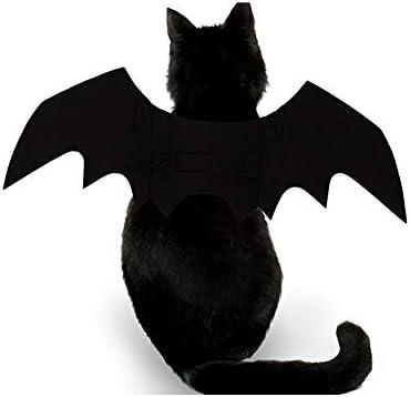 atimier Halloween Pet Bat Wings Cat Dog Bat Costume Pet Dog Bat Wings 22