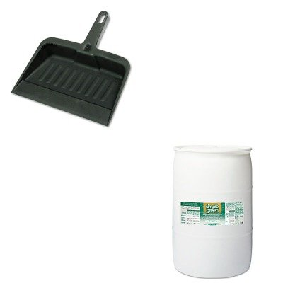 KITRCP2005CHASPG13008 - Value Kit - Simple Green Concentrated All-Purpose Cleaner/Degreaser (SPG13008) and Rubbermaid-Chrome Heavy Duty Dust Pan (RCP2005CHA) by Simple Green