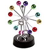 Perpetual Motion, Estore Revolving Balance Balls in Perpetual Motion For Home Deask Office Decoration Asteroid