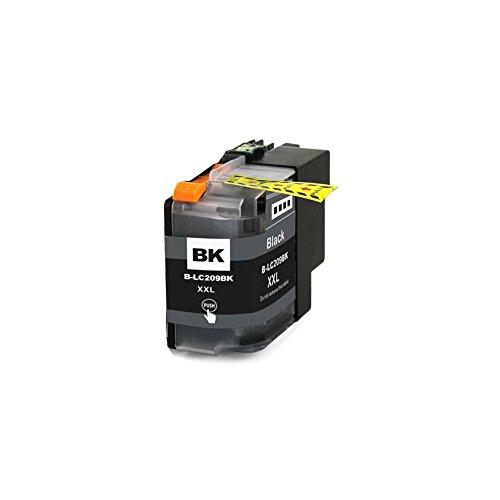 Harryware Compatible Ink Cartridge LC209BK For Brother MFC-J5520DW MFC-J5620DW MFC-J5720DW