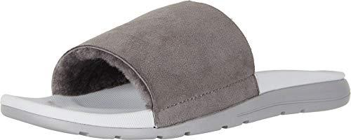 UGG Men's Xavier TF Slide Sandal, charcoal, 7 M US (Ugg Mens Sandals)