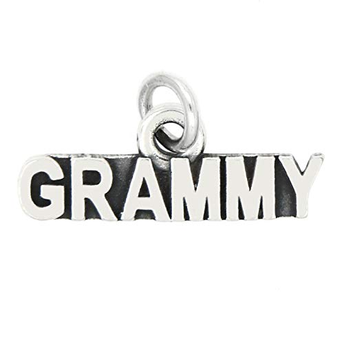 Charm - Sterling Silver - Jewelry - Pendant - Grammy Grandmother