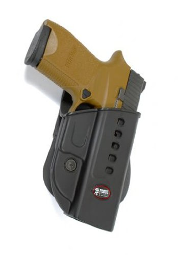 Fobus Polymer Conceal Concealed Carry Paddle Holster - Sig/Sauer 250 Sub Compact, Sig 320 Sub Compact