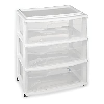 homz-plastic-3-drawer-wide-cart-white