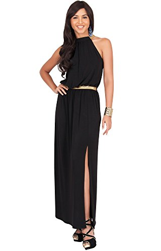 long black grecian dress - 2
