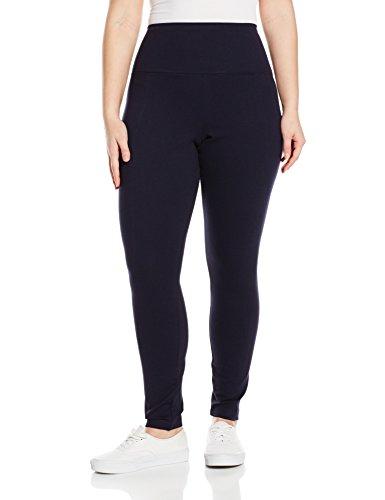 Lysse Women's Plus-Size Center Seam Ponte, Midnight, 3X