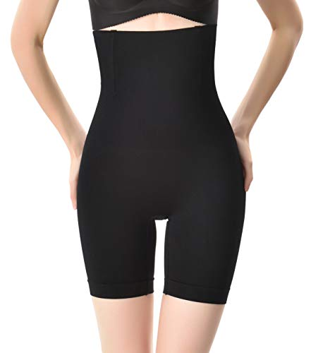 Aivtalk Postpartum Tummy Control Belly Slimmer Shapewear Women Breathable Butt Lifter Thigh Slimmer Compression Short XL/2XL Black
