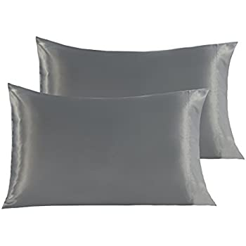 Amazon Com Vonty Luxury Silky Satin Pillowcases For Hair