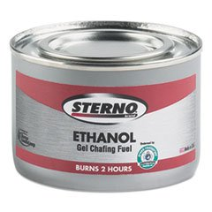 STE20108 - Ethanol Gel Chafing Fuel Can, 182.4g (Fuel Gel Sterno Chafing)