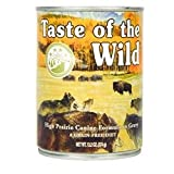 Taste of the Wild High Prairie Canned Dog Food 13.2 oz (12 in case), My Pet Supplies
