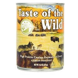 Taste of the Wild High Prairie Canned Dog Food 13.2 oz (12 in case)