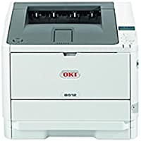 Oki B512dn LED Printer - Monochrome - 1200 x 1200 dpi Print - Plain Paper Print - Desktop - 47 ppm Mono Print - 630 sheets Standard Input Capacity - 100000 Duty Cycle - (Certified Refurbished)