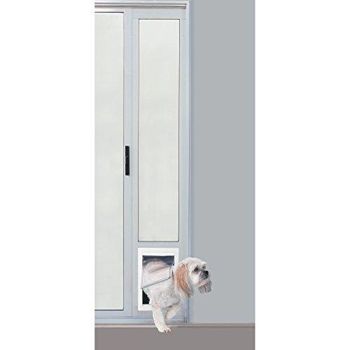 "Diy Dog Door Flap Replacement: Ideal Pet Products 96"" Fast Fit Aluminum Pet Patio Door"