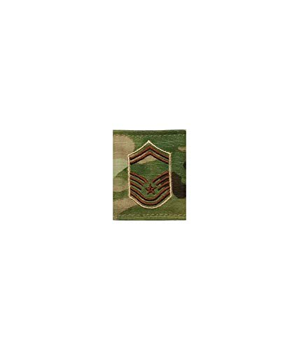 (US Air Force Gortex OCP Scorpion Rank (E8 Senior Master Sergeant))