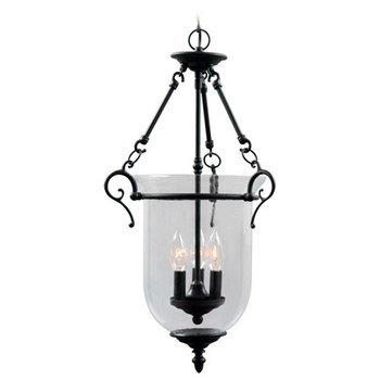 Small Bell Jar Pendant Lights - 4