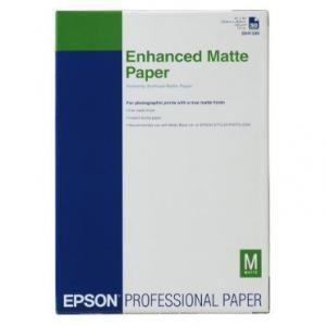 Epson Enhanced Matte A3+ 100 sheet, C13S041719