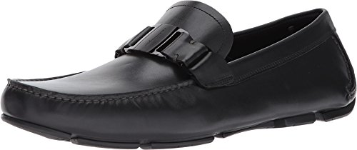 - Salvatore Ferragamo Sardegna Mens Black Leather Loafers Shoes Made in Italy (10 D(M) US)