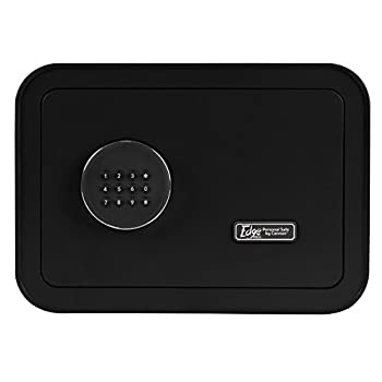 Image of Cannon Safe E913-CPAN-17 The The Edge Mini Personal Safe by Cannon, Black Home Improvements