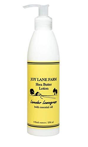 Joy Lane Farm - Shea Butter Lotion - Body Butter Moisturizer For Dry Skin (Lavender Lemongrass)