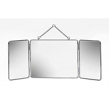 Miroir Tryptique A Suspendre Non Grossissant Moser - Référence ...