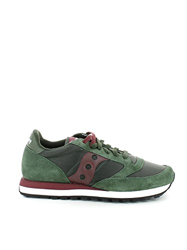 Chaussures Green Original Jazz Cross Femme Saucony Burgundy de AzE6xqap