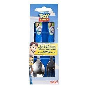 Disney / Pixar Toy Story 2Piece Flatware Set Fork Spoon