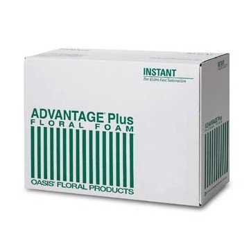 Oasis® Advantage® Plus Floral Foam (Case of 36 Bricks)