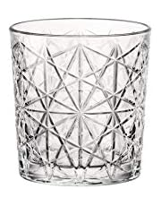 Bormioli Rocco 666224 Lounge Whiskyglas, 390 ml, glas, transparent, 6 stycken